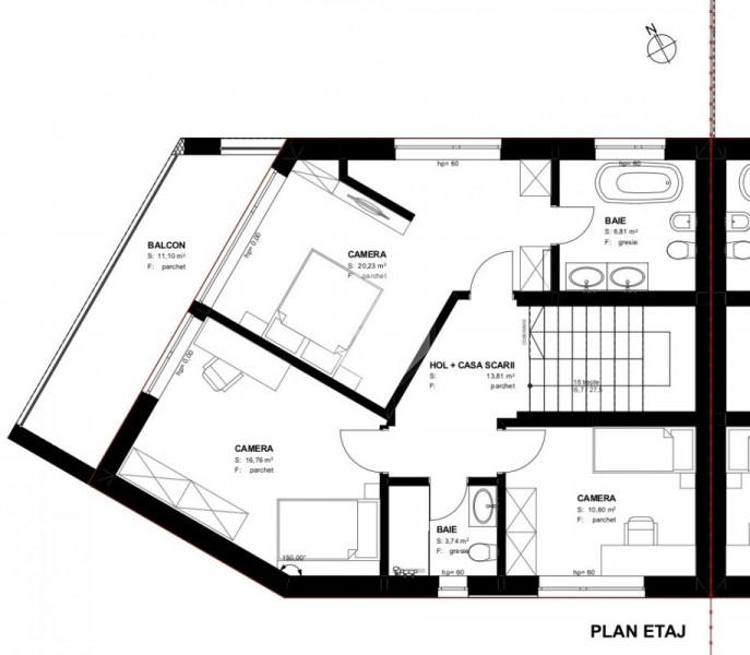 Casa Cuplata |  136 mp utili  |  370 mp teren  |  Priveliste deosebita !