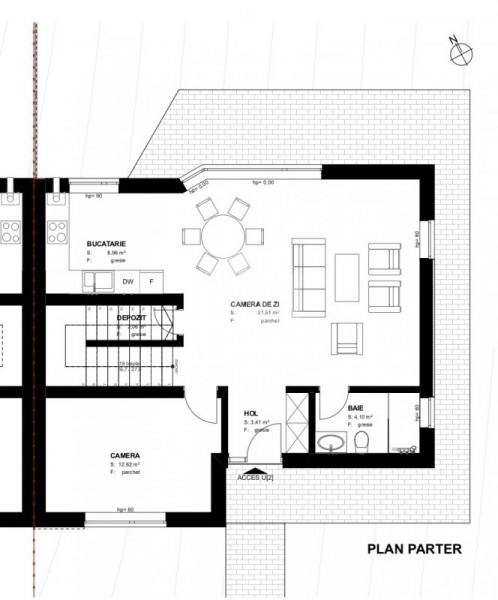 Casa Cuplata |  146 mp utili  |  360 mp teren  |  Priveliste deosebita !