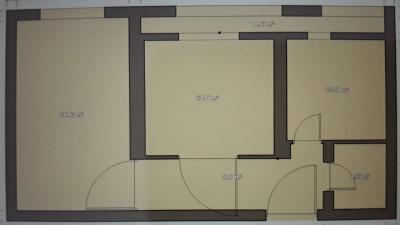 Vanzare Apartament 2 camere, Decomandat, 53 mp, Etaj Intermediar, zona Big