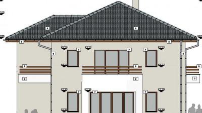 Casa individuala 210 mp |  teren 500 mp |  Priveliste DEOSEBITA !