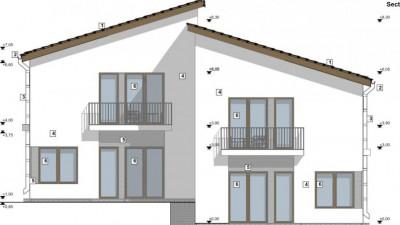 Casa cuplata   145 mp utili   250 mp teren   zona Voronet !