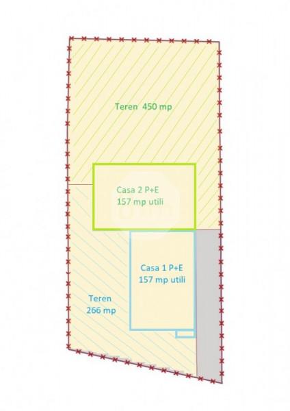 Casa Cuplata | 157 mp utili | teren 266 mp | Locatie avantajoasa si Retrasa !