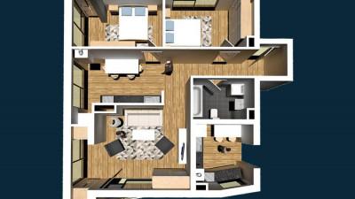 Vanzare Apartament 3 Camere, Decomandat, 73 mp, Zona Calea Motilor!
