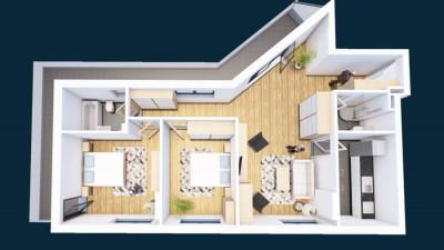 Vanzare Apartament 3 Camere, Decomandat, 90 mp, Zona Str. Oasului!