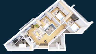 Vanzare Apartament 4 Camere, Decomandat, 90,5 mp, Zona Str. Oasului!