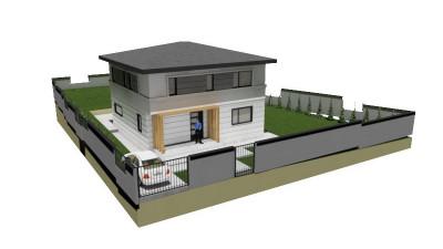 Vanzare Casa Individuala 4 camere, 120 mp utili, 500 mp teren, zona Chinteni !