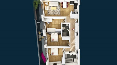 Vanzare Apartamnet 4 Camere, Decomandat,92 mp, Zona Mihai Viteazu !