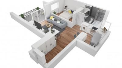 Vanzare Apartament 2 Camere, Semidecomandat, 44 mp, Zona Grand Hotel Italia !