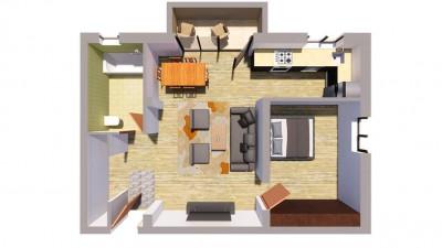 Vanzare Apartament | 2 Camere | 52.5 mp | Zona Cetatii Floresti !