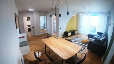 Apartament Semidecomandat, 2 Camere, 55 mp, Zona The Office !