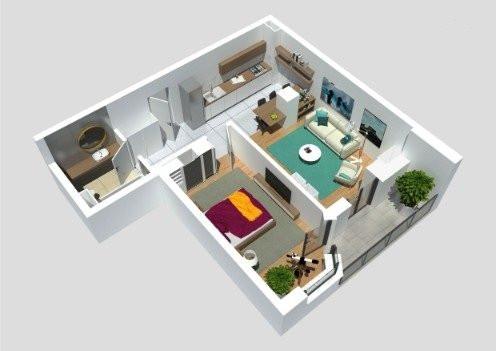 Vanzare Apartament 2 camere 53 mp Etaj Intermediar zona Calea Turzii !
