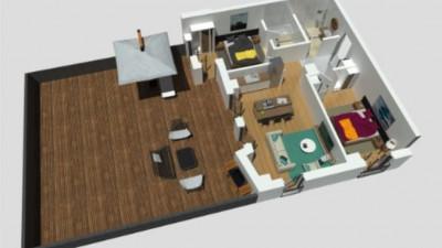Vanzare Apartament, 3 Camere, 68 mp utili, terasa 97 mp, Zona Calea Turzii !!