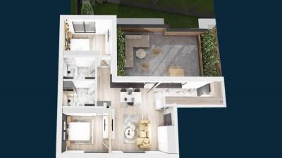 Vanzare Apartament, Semidecomandat, 3 Camere, 72 mp, Zona Platinia !