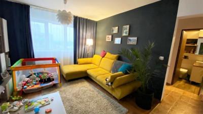 Vanzare Apartament 2 Camere, Semidecomandat, 50 mp, Zona Profi !