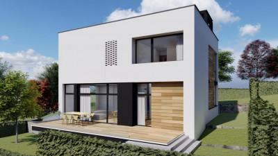 Casa cu Arhitectura Moderna | 202 mp utili | 360 mp teren | zona Voronet !