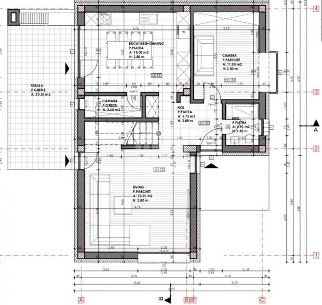 Casa cuplata | 3 dormitoare | 120 mp utili | 320 mp teren, zona Voronet !
