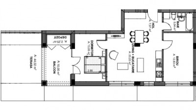 Vanzare Apartament Semidecomandat, 3 Camere, 54 mp terasa, Zona Oasului!