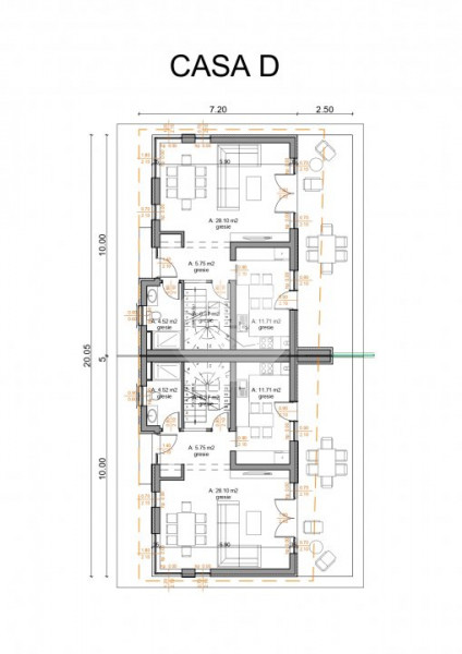 Constructii noi Dambul Rotund, preturi atractive, 120mp