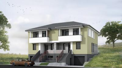 Vanzare Duplex, 5 Camere, 170.5 mp, 250 mp teren, Zona ANL Floresti!