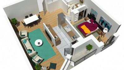 Vanzare Apartament, Semidecomandat, 2 Camere, 60 mp, Zona AUDI !