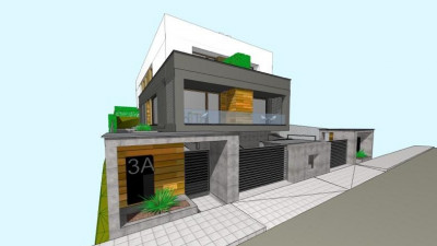 Duplex cu design modern 167 mp   teren 270 mp   zona Voronet !